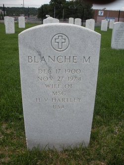 Blanche Mary <I>Throckmorton</I> Hartley
