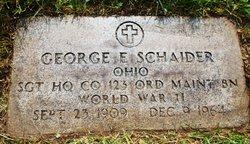 George E Schaider