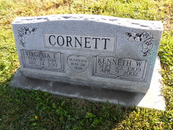 "Kenneth W ""Bill"" Cornett"