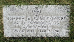 Joseph A Farrenkopf