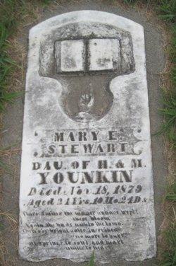 Mary E. <I>Younkin</I> Stewart