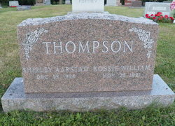 Kossie William Thompson