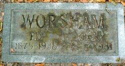 Mary Elizabeth <I>McLeod</I> Worsham
