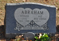 Rose <I>Stephen</I> Abraham