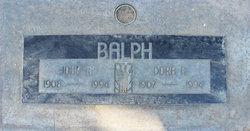 Dora May <I>Ayers</I> Balph