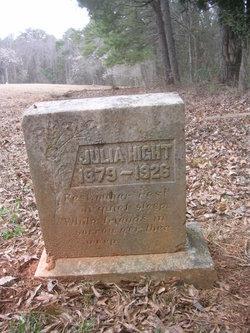 Julia <I>Hight</I> Moody