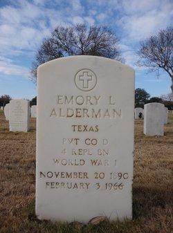 Emory L Alderman