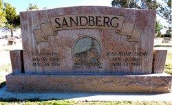 Josephine <I>Snow</I> Sandberg