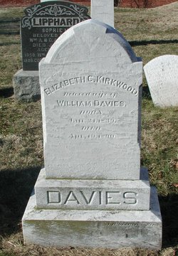 Elizabeth Calder <I>Kirkwood</I> Davies