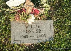 """Willie Lee """"Jitter Bug"""" Ross, Sr"""
