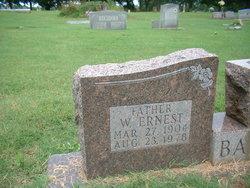 """W. Ernest """"Ed"""" Barber"""