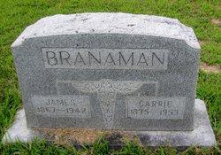 Carrie <I>Cornett</I> Branaman