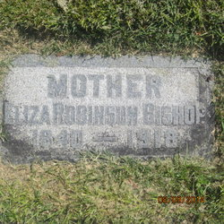 Eliza Catherine <I>Robinson</I> Bishop