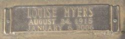 Mattie Louise <I>Myers</I> Carter