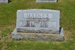 Harold E Maines