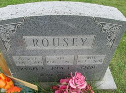 Charles F Rousey