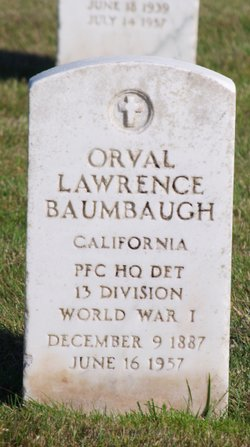 Orval Lawrence Baumbaugh