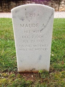 Maude A Cunningham