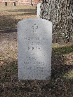Harriet Jane Firth