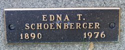 Edna <I>Thurman</I> Schoenberger