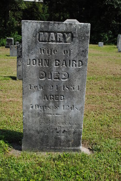 Mary <I>Shadle</I> Baird