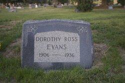 Dorothy <I>Ross</I> Evans