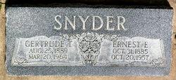 Gertrude Tripp Snyder