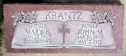 John M Krantz