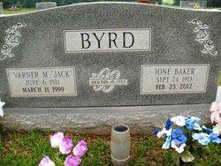 Ione Gertrude <I>Baker</I> Byrd