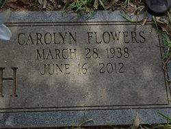 Carolyn <I>Flowers</I> Burch
