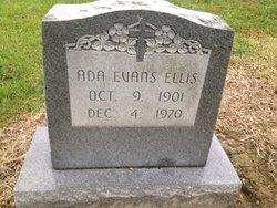 Ada <I>Evans</I> Ellis