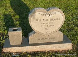 Mrs Eddie Mae <I>Hillman</I> Thomas
