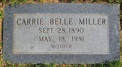 Carrie Belle <I>Cashion</I> Miller