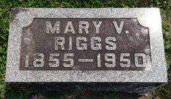 Mary V. <I>Lark</I> Riggs