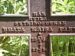 Beata Kaisa <I>Sperring</I> Fant