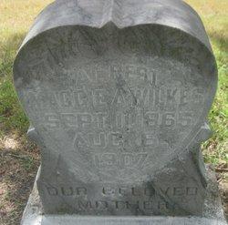 """Margaret Ann """"Maggie"""" <I>Hunter</I> Wilkes"""