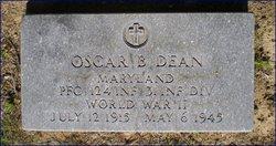 PFC Oscar Bernard Dean