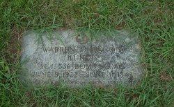 Sgt Warren O Bacon