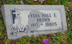 Lydia <I>Hall</I> Elliot-Brown