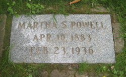 Martha S <I>Gilmore</I> Powell