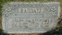 Lillian <I>Jensen-Hanson</I> Raddatz