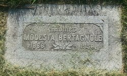 Modesta <I>Bonome</I> Bertagnole