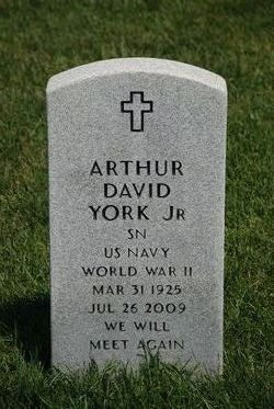 Arthur David York, Jr