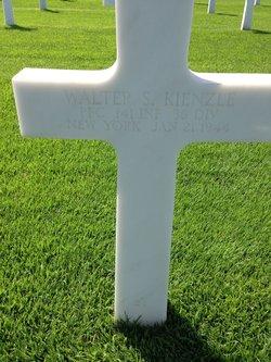 PFC Walter S Kienzle