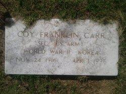 Coy Franklin Carr