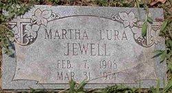 Martha Lura <I>Denton</I> Jewell