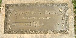 Dorothy A <I>Steed</I> Craig