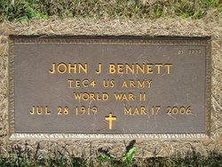 """John Bartholmew  Joseph """"Pete"""" Bennett"""
