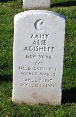 Zahy Alie Agisheff