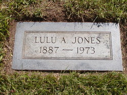 Lulu Annetta <I>Patterson</I> Jones